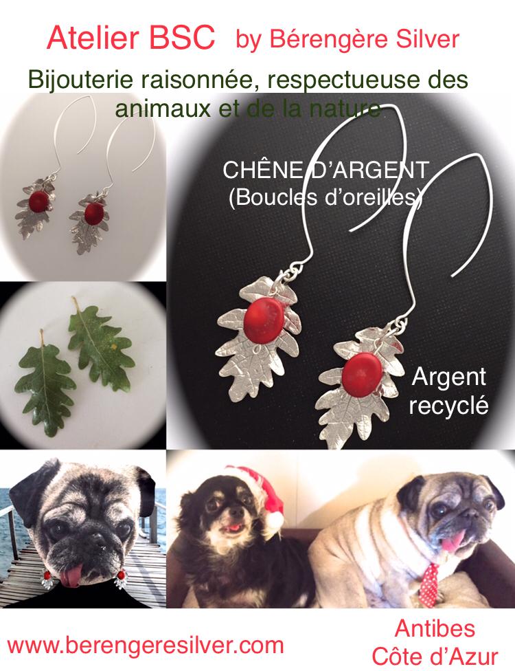 Atelier BSC by Bérengère Silver - Côte d`Azur - Bijoux en argent recyclé - Bijoux Antibes Juan les pins