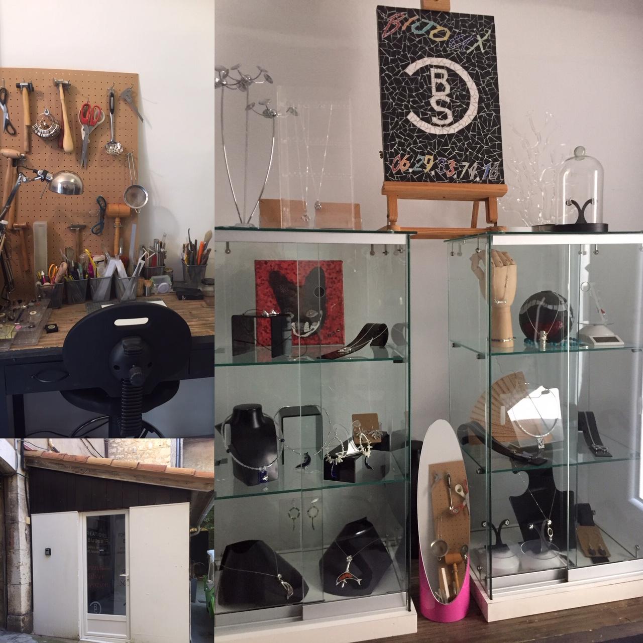 Inclusion d`Arts Atelier BSC Bérengère Silver Antibes Vence Bijoux argent éco responsable