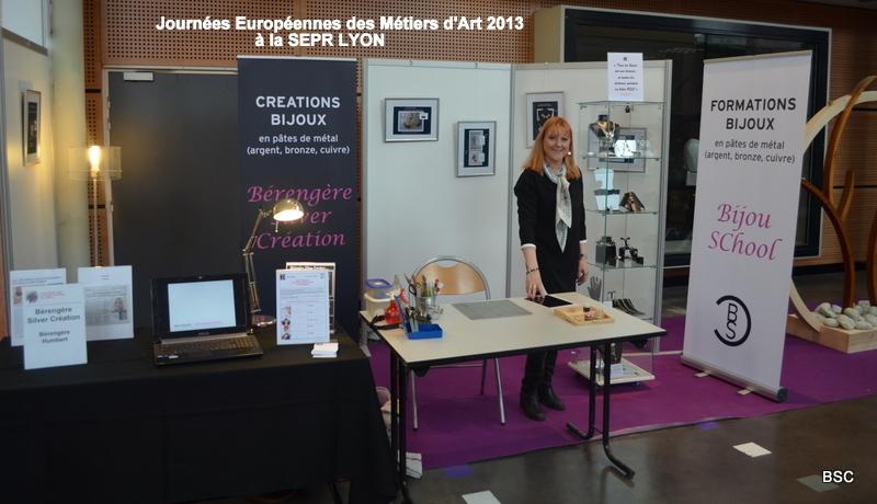 Journées Européennes des métiers d`art Lyon Atelier BSC