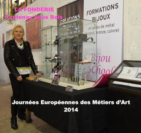 JEMA 2014 Bérengère Silver Création / Bijou School Paris à la Fonderie Fontenay Sous Bois